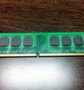 2 оперативных памяти NCP по 1 GB
