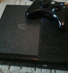 Xbox 360 е slim 500гб 110 игр лицензия