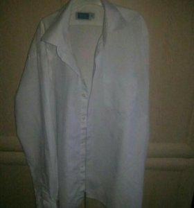 Рубашка белая 35 р