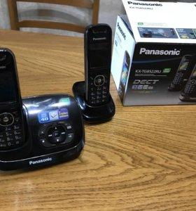 Домашний беспроводной телефон Panasonic с автоотв.