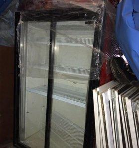 Холодильник витртнный б/у торг