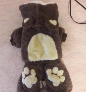 комбинезон теплый для собаки