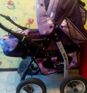Деткая коляска трансформер