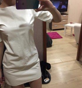 Платье с ЭКО-кожи
