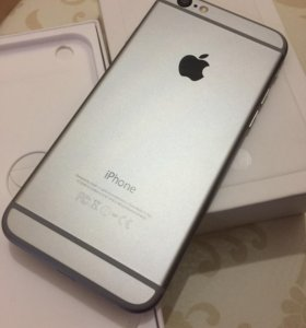 iPhone 6 (16) GB ,Space Gray .