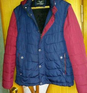 Куртка зимняя рю 48 на рост 176 - 182см.