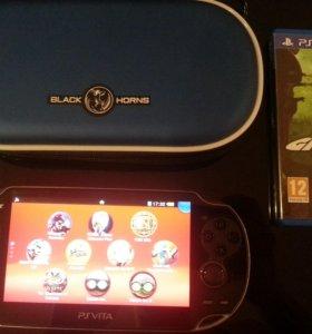 Playstation Vita 32gb с куйчей установленных игр
