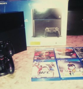 PlayStation 4 500 GB Black