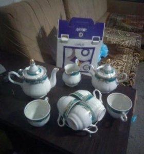Сервиз чайный новый