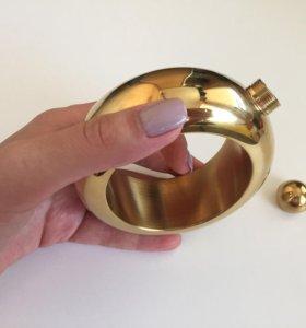 Оригинальный подарок! Фляжка-браслет