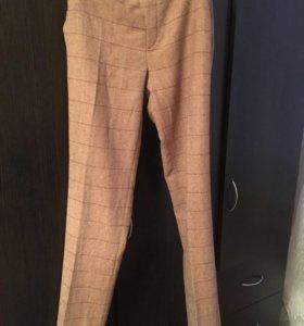 Тёплые шерстяные штаны uniqlo