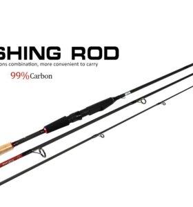 Спиннинг карбоновый FishKing BX-SP 2,7м 10-30гр