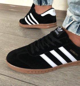 Кроссовки Adidas Hamburg Black