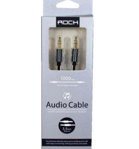 Кабель AUX 3.5mm Rock Audio Cable 1000 mm