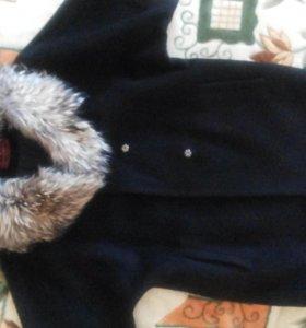 пальто из натуральной альпаки
