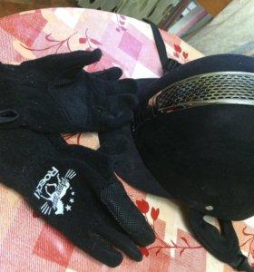 Конный спорт, шлем, перчатки, амуниция