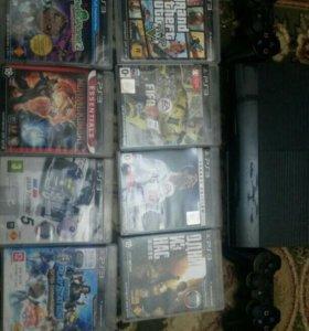 PS3+8 Игр