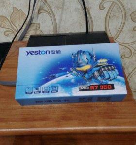 Yeston Ati Radeon R7 350