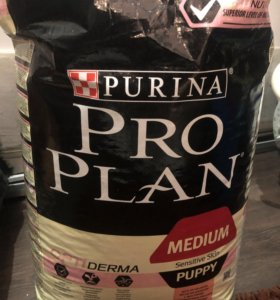 Продам открытый, начатый корм для щенков ProPlan