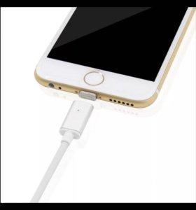 Магнитный шнур зарядки iPhone 5, 5s, 6, 6s