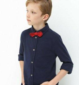 Рубашка для мальчика с бабочкой Акула