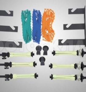 Комплект для крепления 3 бумажных фонов Visico