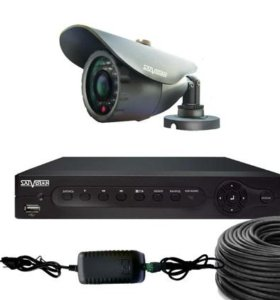 HD Комплект видеонаблюдения с 1 уличной камерой