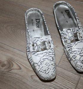 Новые туфли Dior