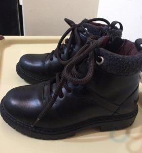 Ботинки д/мальчика ZARA (кожа)