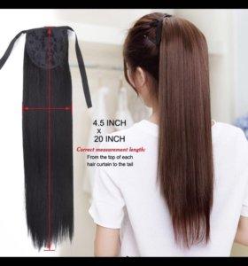 Новые волосы на заколках