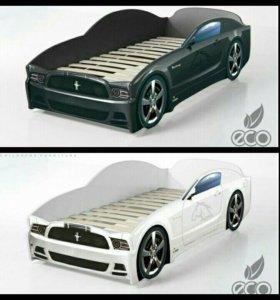 Кроватка-машинка, кровать машина