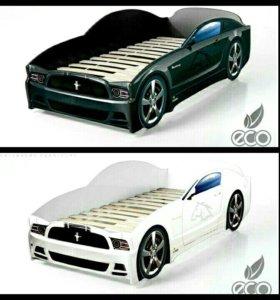 Кровать-машина, кроватка-машинка