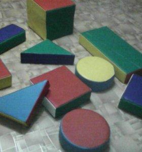 Мягкие'цветные'лёгкие'развивающине'кубики