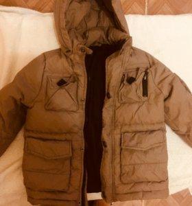Куртки на мальчика зимние или осень