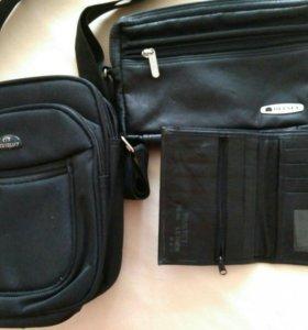 Мужские сумки, ежедневник, рубашка