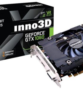Новая Видеокарта inno3D GeForce GTX1060