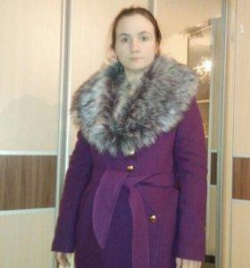 Пальто утеплённое НОВОЕ!