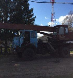 Автокран Ивановец маз-5334 кс-3577