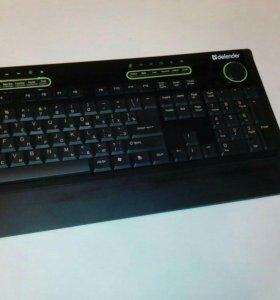 Клавиатура и мышь Defender I-Space C-875 Nano