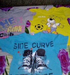 футболочки в хорошем состоянии