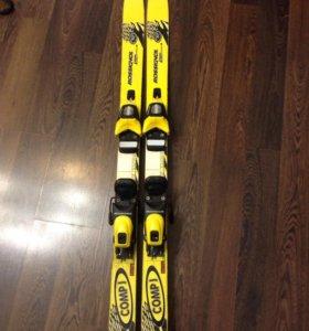 Детские горные лыжи р110