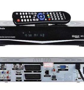 Спутниковый ресивер Golden Media uni-box 9080