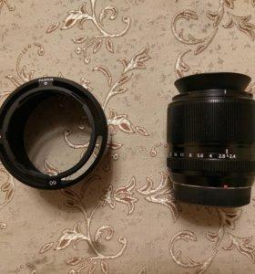 Fujifilm XF 60mm f/2.4 R Macro + доп. бленда