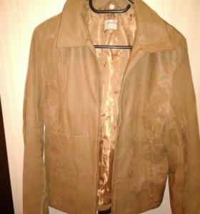 Куртка ткань под нубук