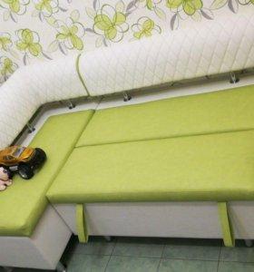 Кухонный уголок «Милан-4» со спальным местом