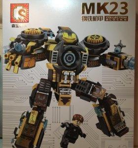 Конструктор Sembo IronMan MK23 2в1 393 детали