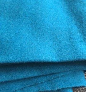 Ткань- Сукно чистошерстяное. Цвет морская волна.