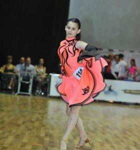 Платье латина Юниоры 1