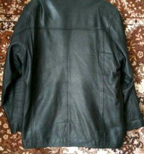 Куртка- пиджак кожаная