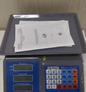 Весы электронные для торговли на 30 кг